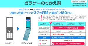 シェアプラン/nanoSIMでY!Mobile iPhoneを一応実現、初月は最大9GBのデータ容量付き