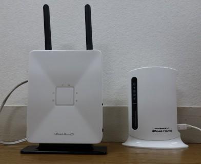 URoad-Home2+契約レビュー、モバイル回線を使った固定代替的Wi-Fiルーター