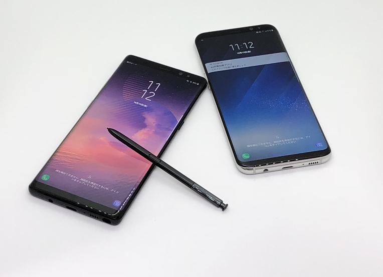 Galaxy Note8(SC-01K/SCV37)実機レビュー評価 6インチ超えスマホの決定版に