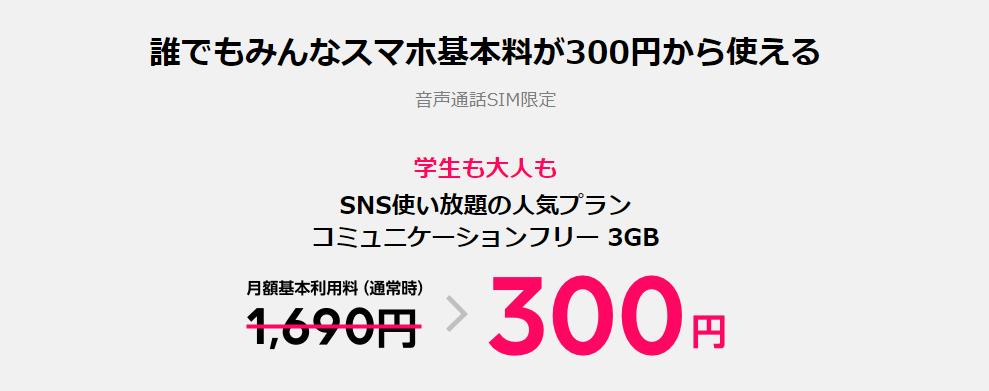 LINEモバイル、月300円キャンペーンに加えて5,000ポイント特典や1,200円引き抽選キャンペーンを実施中