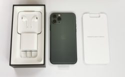 iPhone 11 Pro開封レビュー ミッドナイトグリーンいい色でした