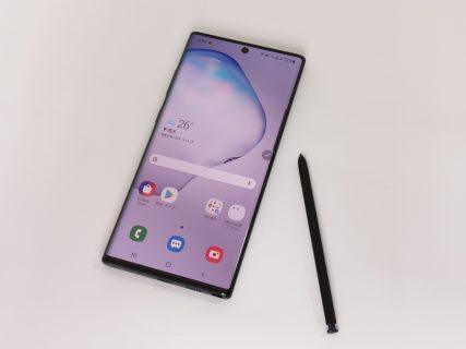 Galaxy Note10+ SC-01M/SCV45レビュー Sペン/Sノート強化・DeX強化の6.8インチ大画面モンスタースマホ